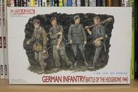 DRAGON  6025 GERMAN INFANTRY BATTLE OF THE HEDGEROWS 1944 - Post-Retirement Modelling Life