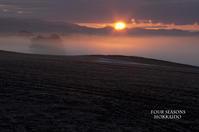 3月の朝霧 - ekkoの --- four seasons --- 北海道