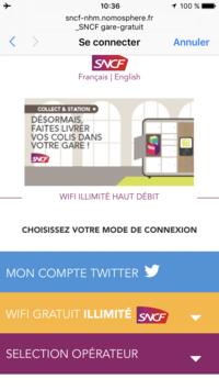 フランスの国鉄(SNCF)の駅で無料で利用できるWifiについて - おフランスの魅力