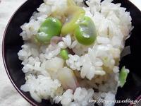 空豆ご飯再びと懐かしい春の景色 - 丁寧な生活をゆっくりと2
