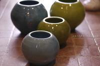 陶製フラワーベース - 雑貨な日々
