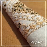 ハーダンガーとレティチェロ - ~K~ embroidery studio