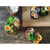 鶏皮天串焼きBENTO - Feeling Cuisine.com