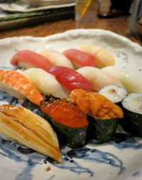 水産市場直営 * 寿司割烹 八風のランチ @佐久平 - ぴきょログ~軽井沢でぐーたら生活~