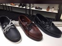 春夏は、デッキシューズを足元に - 玉川タカシマヤシューケア工房 本館4階紳士靴売場