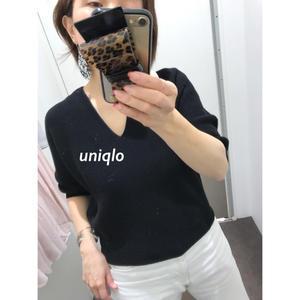 uniqloコクーンニット - kiki*blog
