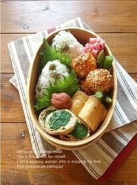 4.12 豆ごはんと作りおき詰め弁当 - YUKA'sレシピ♪