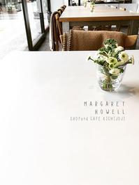 MARGARET HOWELL SHOP & CAFE 吉祥寺  /  coromo cya ya  吉祥寺 - Favorite place  - cafe hopping -