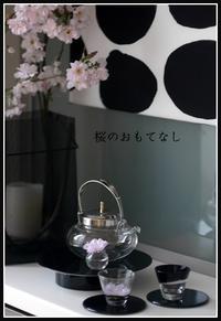 桜のおもてなしレッスン始まりました♪ - *PRIM  ROSE*