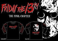 FRIDAY THE 13TH -the final chapter- LONG SLEEVE T-shirt - xTKCx  artworks