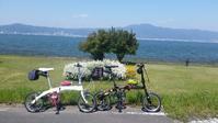 琵琶湖南湖一周花見サイクリング - 近江ポタレレ日記(琵琶湖)自転車二人旅