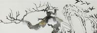 屏風作り。 - 『一日一畫』 日本画家池上紘子
