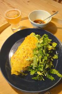 パクチー祭り 〜バインセオと炒飯ヽ(*⌒∇⌒*)ノ - 週末は晴れても、雨でも
