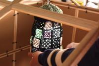 セリア100円フレームで小屋はたてられるか?大実験!+LEDライトシェードお披露目(vol.3) - Camphortreeの日常