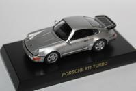 1/64 Kyosho PORSCHE 3 911 TURBO - 1/87 SCHUCO & 1/64 KYOSHO ミニカーコレクション byまさーる