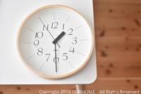■掛け時計をあたらしく導入。オフィスの仕組みを変える。■ - OURHOME