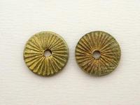 人気のカレン族真鍮ボタン - 手作りのある暮らし アクセサリーパーツPron