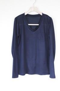フェミニンVカットソーシャツ出来ました - 想いをかたちに・・・