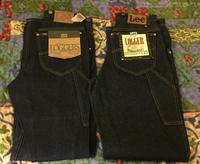 アメリカ仕入れ情報#24 デッドストック発見!! 90s Lee ロガーペインターパンツ&80s~90s Lee Riders Jeans  #200 - ショウザンビル mecca BLOG!!