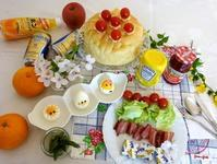 大きなフォカッチャdeサンドイッチパーティー☆ - パンのちケーキ時々わんこ