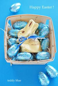 Happy Easter !  ハッピーイースター! - teddy blue
