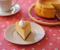 まったり濃厚なベイクドチーズケーキ - My Sweet Diary