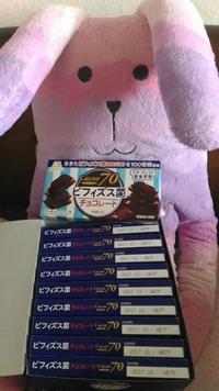 ビフィズス菌チョコレート カカオ70 - ちい☆ララ