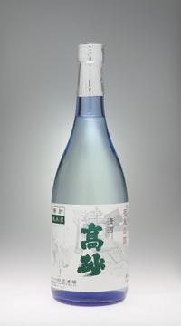高砂  特別純米酒 ブルー[財間酒造] - 一路一会のぶらり、地酒日記