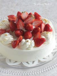 やっぱりコレ。イチゴのショートケーキ! - Tortelicious Cake Salon