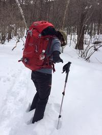 雪の編笠へ登ってきました。 - 山日和・ヨガ日和 -今日もいぃ天気-