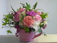 フラワーティーカップ - 花に親しむ(フラワーデザイン)