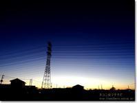 【ゆ】夕焼け鉄塔:ゆうやけてっとう - ネコニ☆マタタビ
