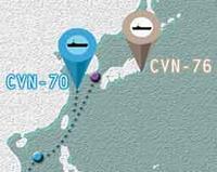 『米軍空母「カール・ビンソン」朝鮮半島にはまだ遠い』/ スプートニク - 「つかさ組!」