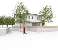 3D work01/さくら - Den設計室 一級建築士事務所