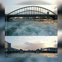 ②「築地大橋~勝どき橋」日の出桟橋~浅草 2017.4.13 - わたしの写真箱 ..:*:・'°☆