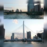 ③「佃大橋~中央大橋」日の出桟橋~浅草 2017.4.13 - わたしの写真箱 ..:*:・'°☆
