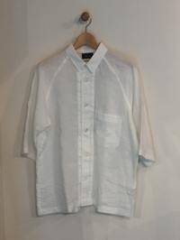 BLUE BLUE JAPAN / リネン スモールカラー ワイドスリーブシャツ - Safari ブログ