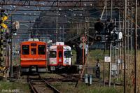 一畑口駅にて。 - 山陽路を往く列車たち