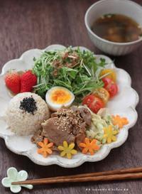 今日のbento&ひとりランチ(๑¯﹃¯๑)♪ - **  mana's Kitchen **