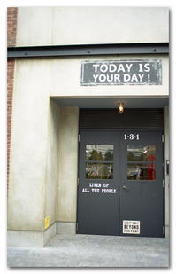 #2160 TODAY IS YOUR DAY! - at the port