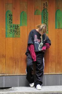 adidasジャージパンツを使って着回し!part1 - 仙台古着屋shack-a-luck (シャカラック)