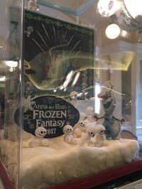 Anna and  Elsa's FROZEN Fantasy 2017☆強風に怯える - SUPICA'S  BLOG