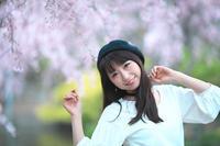 夏目樹里 撮影会 ~Photoclub GH~ 安城デンパーク しだれ桜 - 笑顔が一番