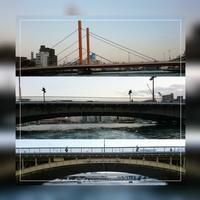 ⑤「新大橋~両国橋~蔵前橋」日の出桟橋~浅草 2017.4.13 - わたしの写真箱 ..:*:・'°☆