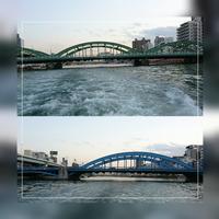 ⑥「駒形橋~厩橋」日の出桟橋~浅草 2017.4.13 - わたしの写真箱 ..:*:・'°☆