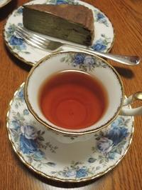 新茶でミルクレープ - BEETON's Teapotのお茶会