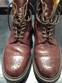 エイジングされたブーツって、やっぱり良いよね - 玉川タカシマヤシューケア工房 本館4階紳士靴売場