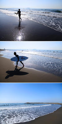 2017/04/16(SUN) ポカポカ陽気の海辺です。 - SURF RESEARCH