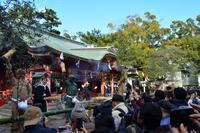 長田神社(神戸市)の節分追儺(ついな)式 - 案山子の写真紀行