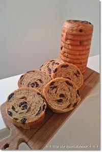 レーズンラウンドパンと最近の御飯の食べ方? - 素敵な日々ログ+ la vie quotidienne +